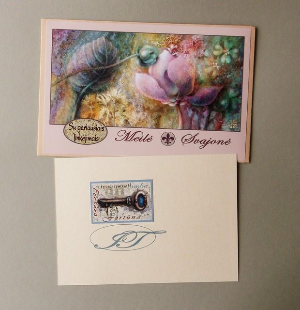 VOKAS vestuvėms  su sveikinimo kortele